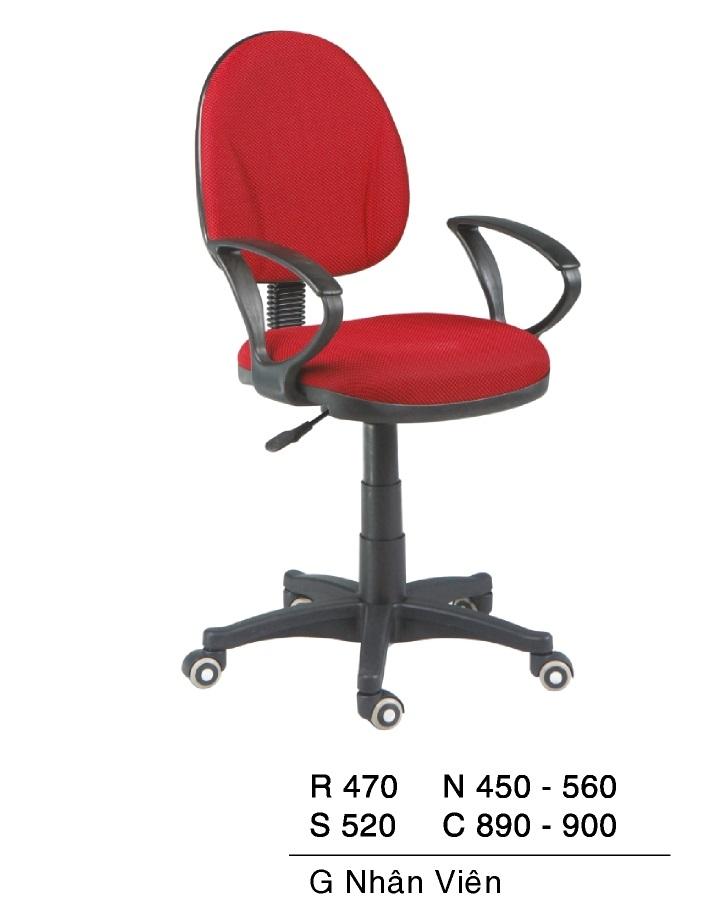 Ghế nhân viên giá rẻ TG 9648V
