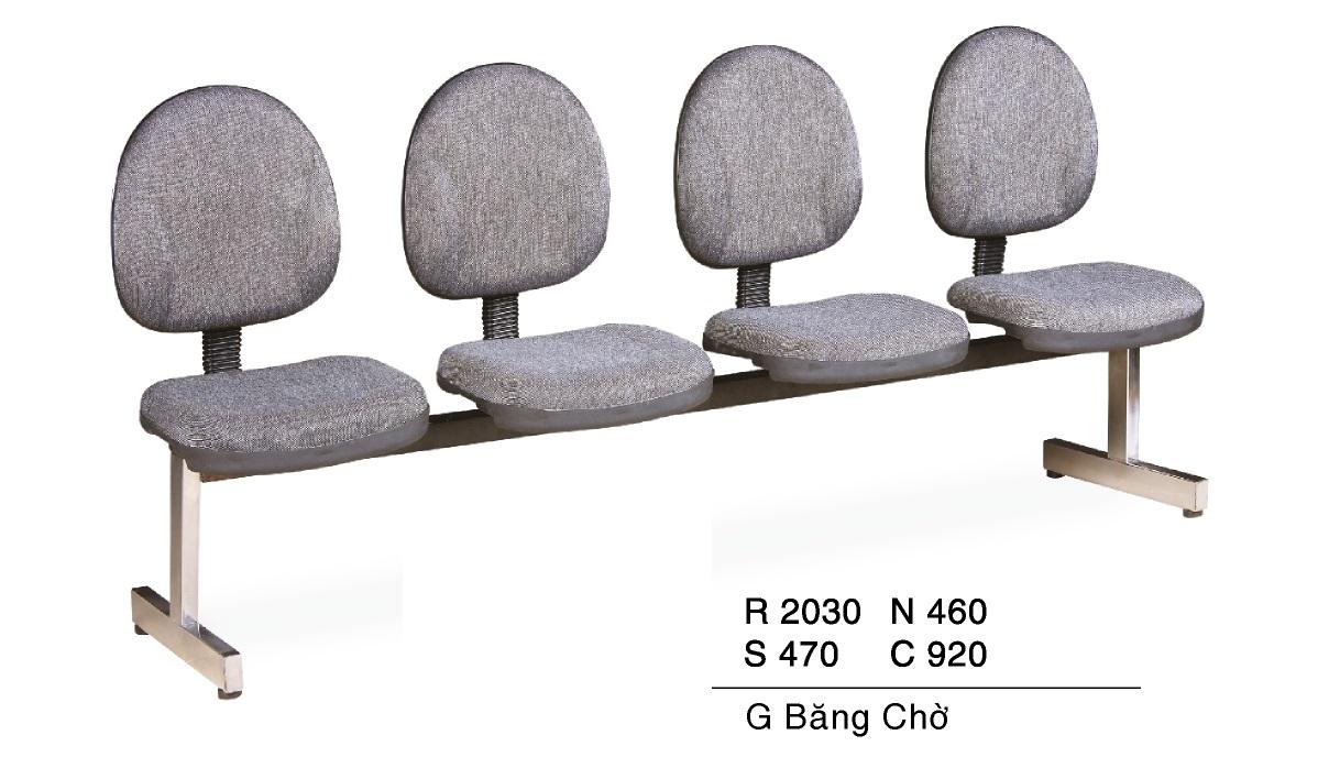 Ghế phòng chờ bọc nệm TG 6104V