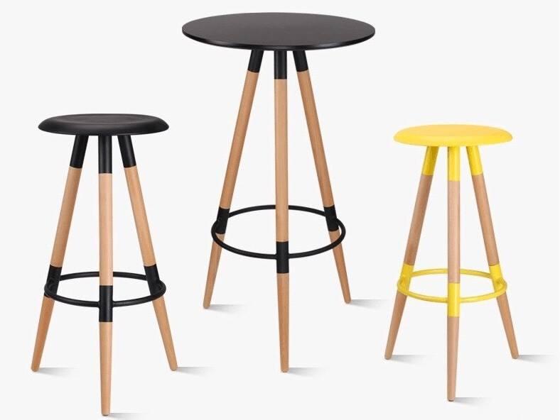Bộ bàn ghế bar gỗ tg6768c