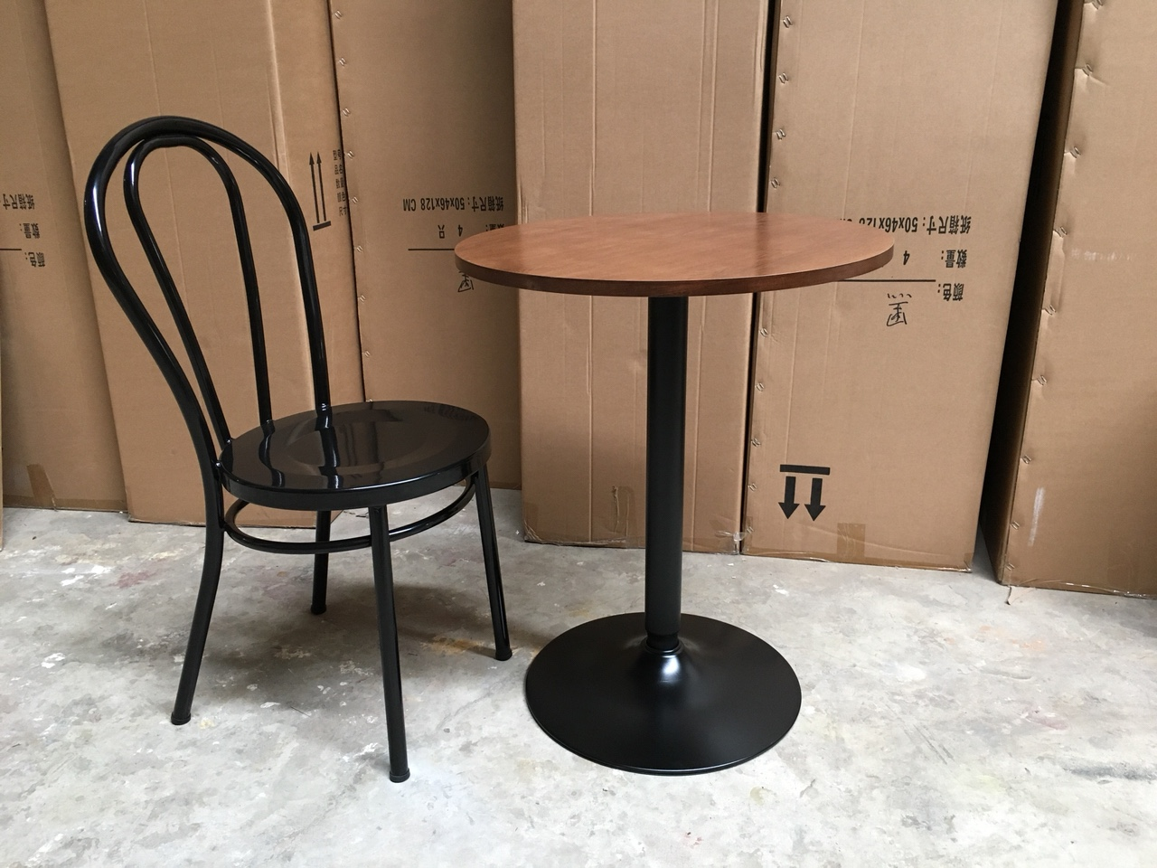 Bộ bàn ghế cafe cao cấp tg9414