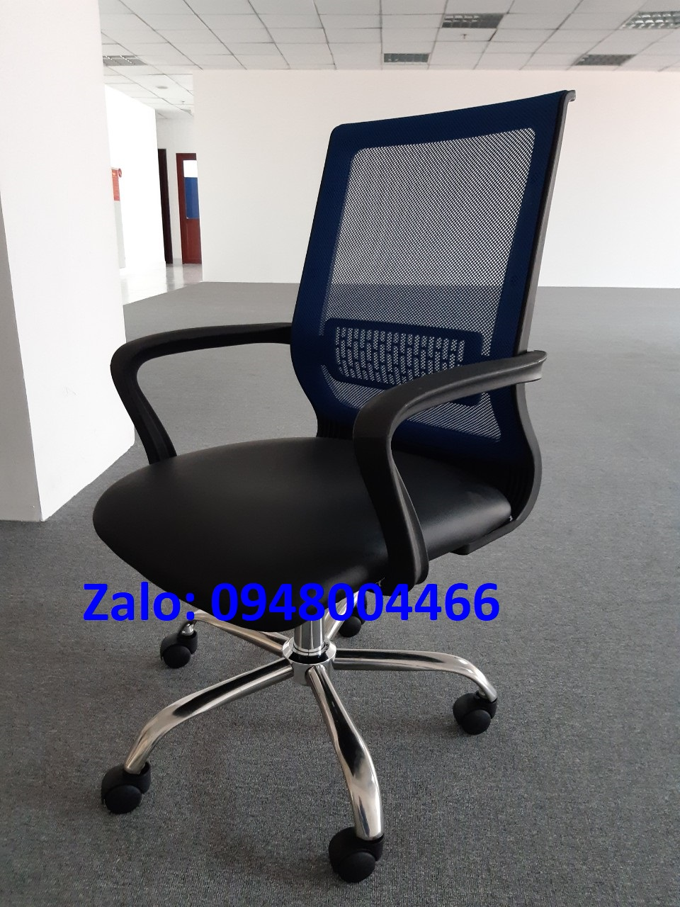 Ghế lưới văn phòng chân Inox tg1831x