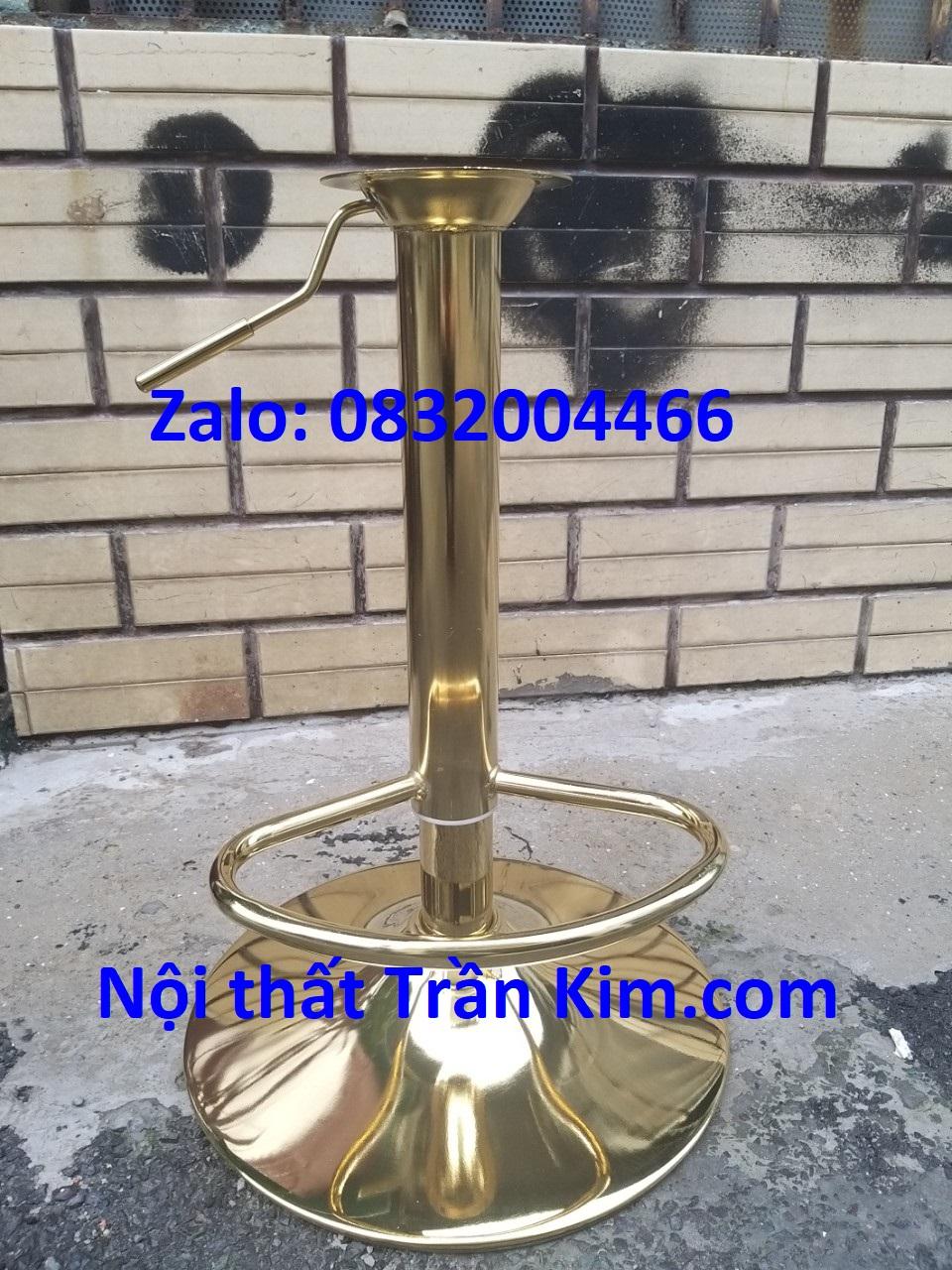 Bộ pk ghế bar xi mạ vàng tk2022v